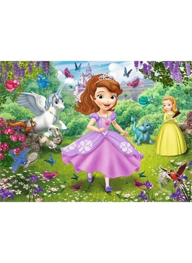 Educa Disney Prenses Sofia Bahçede 30 Parça Çocuk Puzzle - Trefl Renkli
